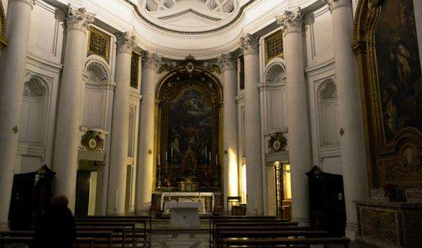 Церква Сан-Карло алле Кватро Фонтані