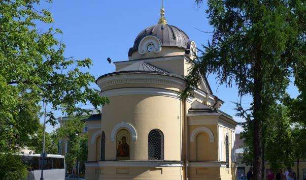 Храм-каплиця на честь Тихвінської ікони Божої Матері