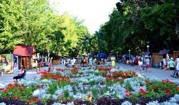 Парк Імені Піддубного в Єйську