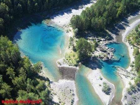 Блакитні озера Очі Катуні