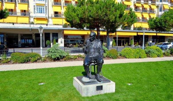 Памятник Набокову