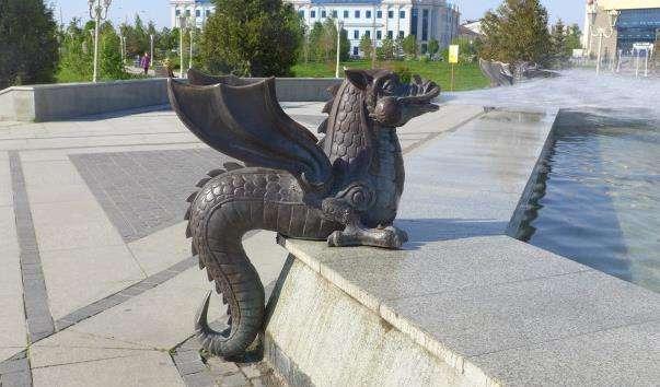 Фонтан Казан в Казані