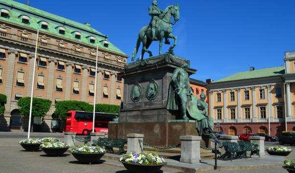 Памятник Густаву II Адольфу