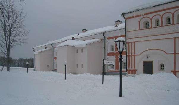 Корпус братських келій Іверського монастиря