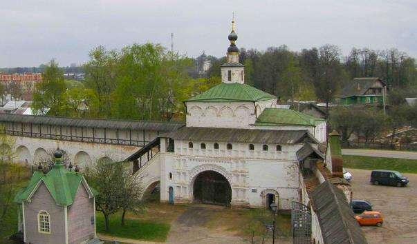 Надбрамна церква Миколи Чудотворця в Горицком Успенському монастирі