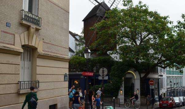 Млин Галетт в Парижі
