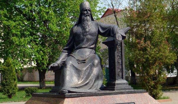 Памятник Симеона Полоцького