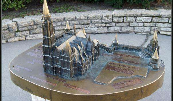 Модель Собору святого Матіаша в Будапешті