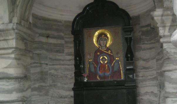 Каплиця ікони Божої Матері Знамення Валаамського монастиря