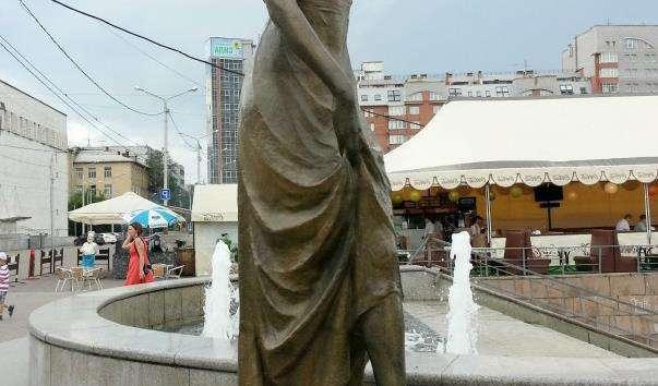 Фонтан «Річки Сибіру»