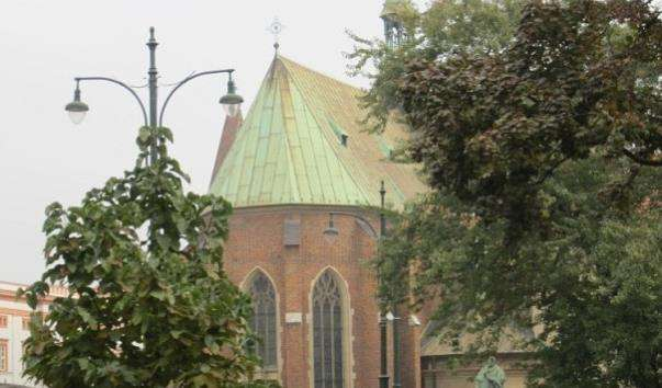 Костел францисканців у Кракові