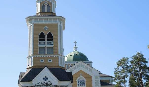 Деревяна церква в Керимяки
