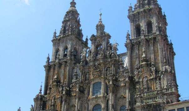 Кафедральний собор Сантьяго де Компостелла.