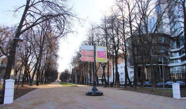 Звездинская вулиця - сквер Звездинка