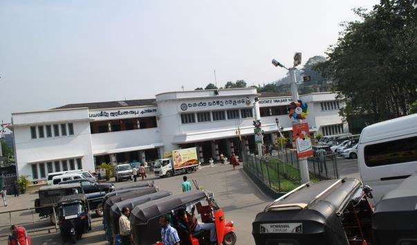 Залізничний вокзал Канді