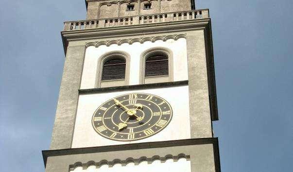 Ратуша і вежа Перлахтурм