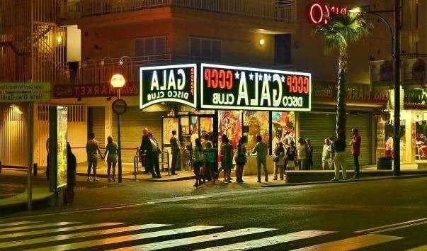 Диско-клуб Гала в Ллорет де Мар