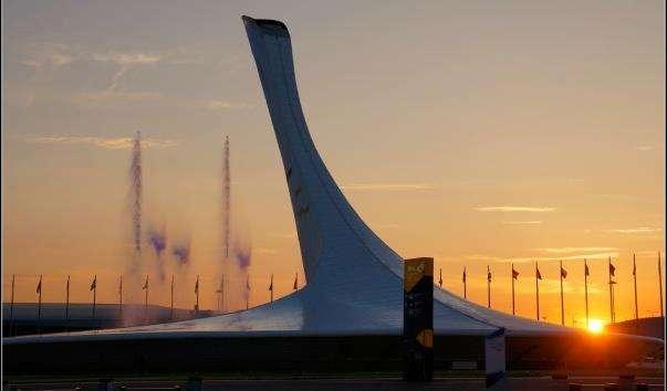 Світломузичний фонтан в Олімпійському парку