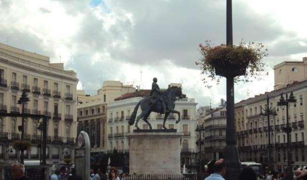 Памятник королю Карлу III