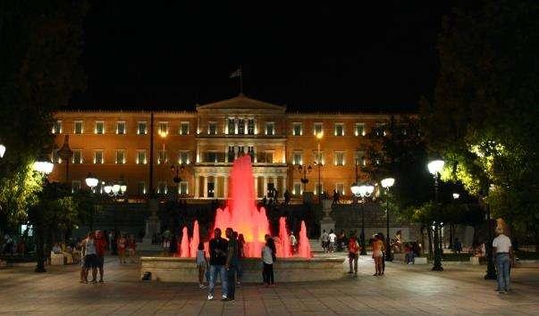 Фонтан на площі Конституції
