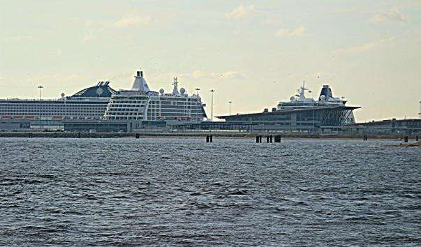 Пасажирський порт «Морський фасад»