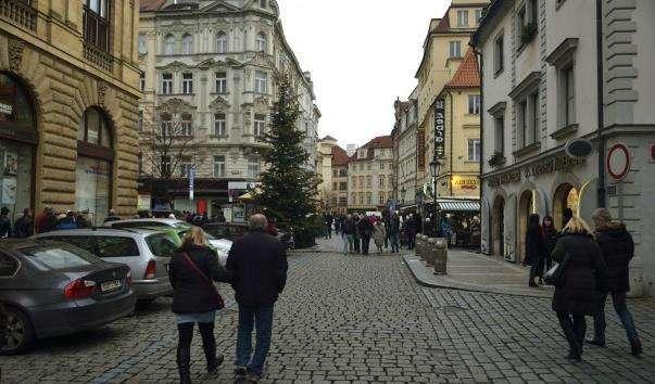 Вулиця Рытиржская в Празі