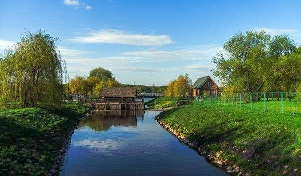 Водяний млин в Коломенському